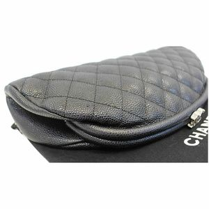 CHANEL Bags - CHANEL Timeless Caviar Quilted Leather Clutch